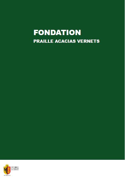 Brochure de la Fondation PAV