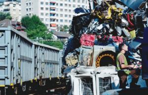 ZIPA recyclage de métaux, par le rail, en zone urbaine